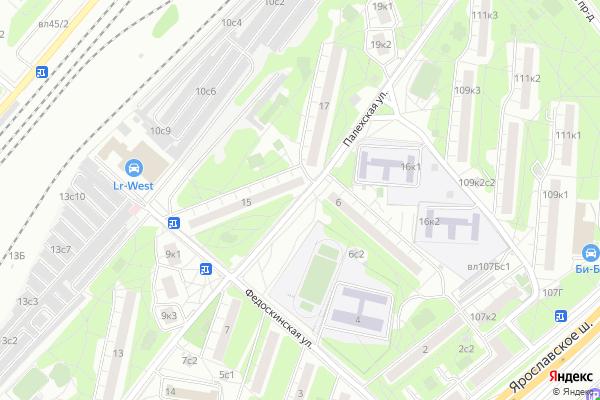 Ремонт телевизоров Улица Палехская на яндекс карте