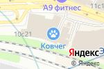 Схема проезда до компании Кухни Зубр в Москве
