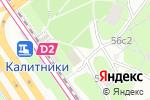 Схема проезда до компании Хозяйственный магазин в Москве