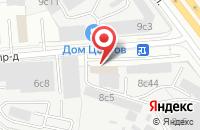 Схема проезда до компании Трейд Марк  в Москве
