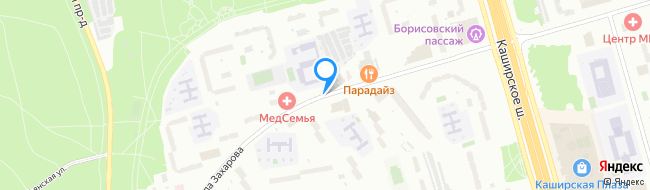 улица Маршала Захарова