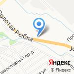 Салон-магазин каминов на карте Новороссийска