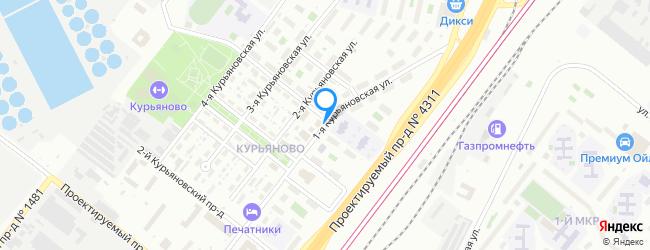 улица Курьяновская 1-я