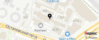 ЛВИ на карте Москвы