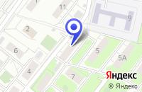 Схема проезда до компании ТФ ЕВИНА ДЕКОР в Москве
