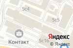 Схема проезда до компании Эрлайт-Урал в Москве