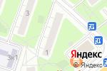 Схема проезда до компании Муар в Москве