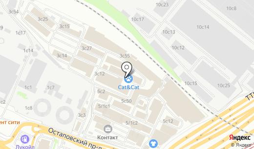 Алевром. Схема проезда в Москве