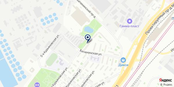 Магазин табачной продукции и пива на карте Москве