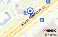 Схема проезда до компании ПТФ ЕВРОСТАРГРУПП в Москве