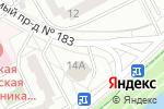 Схема проезда до компании TheЛень в Москве