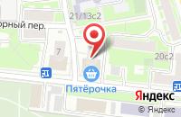 Схема проезда до компании Макслэвел в Москве