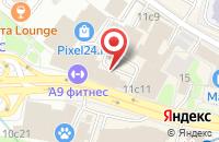 Схема проезда до компании Акса Медиа Группа в Москве