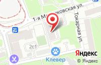 Схема проезда до компании Промоушн Арт в Москве