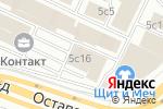 Схема проезда до компании Russ Event Company в Москве