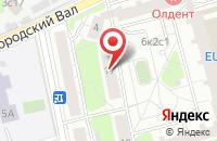 Схема проезда до компании Омега Плюс в Москве