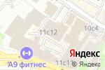 Схема проезда до компании Окнадок в Москве