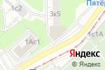 Схема проезда до компании Ключи в Москве