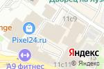 Схема проезда до компании Московские Магниты в Москве