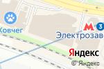 Схема проезда до компании ЗооМаркет в Москве