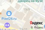 Схема проезда до компании PrintUnion в Москве