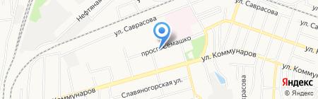Отделение связи №89 на карте Донецка