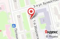 Схема проезда до компании Любомир в Москве