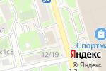 Схема проезда до компании Велосипеды мечты в Москве