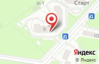 Схема проезда до компании Сибирьпроектстрой в Москве