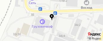 Спаннер на карте Москвы