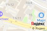 Схема проезда до компании Маленькая страна в Москве