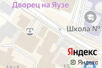 Схема проезда до компании ИграМикс в Москве