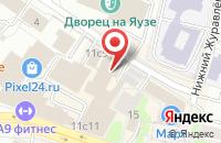 Схема проезда до компании Crep Protect в Москве