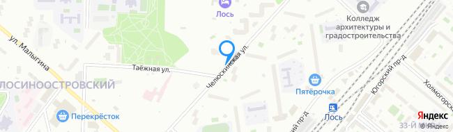 Челюскинская улица