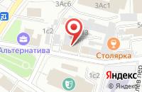 Схема проезда до компании Авторское Дело в Москве