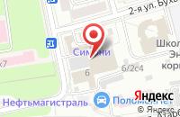 Схема проезда до компании Миттель в Москве