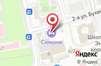 Схема проезда до компании МоллСтрой в Москве