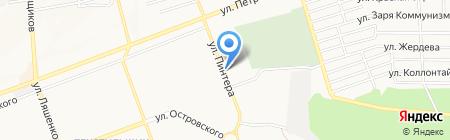 БАХОР на карте Донецка