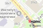 Схема проезда до компании Masterhand в Москве