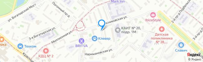 Токарная улица