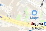 Схема проезда до компании Адвокат Лукьянов А.В в Москве