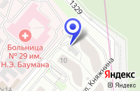 Схема проезда до компании ПТФ ИНТЕРФЛОРА в Москве