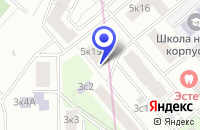 Схема проезда до компании ПТФ ВЕНАВИТ в Москве