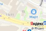 Схема проезда до компании Галерея Недвижимости в Москве