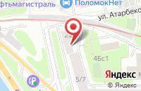 Схема проезда до компании Полимер М в Москве