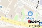 Схема проезда до компании Шеф-Повар в Москве