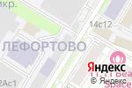 Схема проезда до компании Национальная ассоциация автоматизированной торговли в Москве