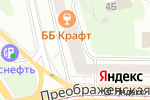 Схема проезда до компании Сосновый Бор-М в Москве