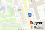 Схема проезда до компании ПРОСВЕТ в Москве
