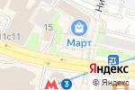 Схема проезда до компании КотикаАрт в Москве